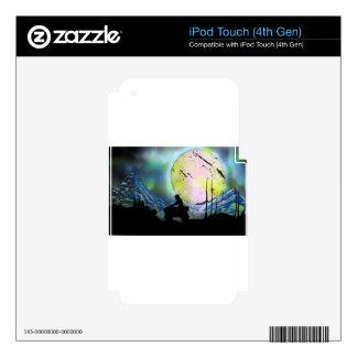 ATV Four Wheeler Space Landscape Spray Paint Art iPod Touch 4G Skin