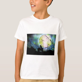 ATV Four Wheeler Space Landscape Spray Paint Art T-Shirt