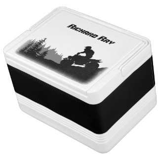 ATV Fun Personalized Drink Cooler