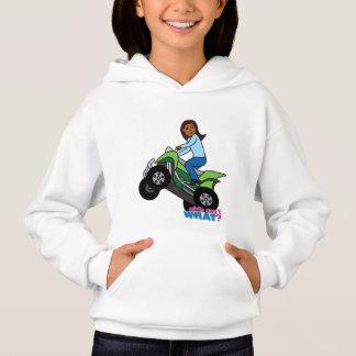 ATV Girl Hoodie