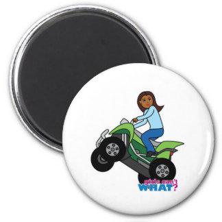 ATV Girl Fridge Magnets