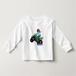 ATV Girl Toddler T-shirt
