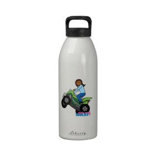 ATV Girl Water Bottles