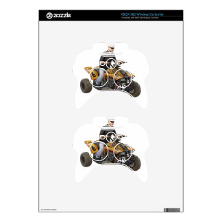 ATV Gold  Mud  Rider Xbox 360 Controller Decal