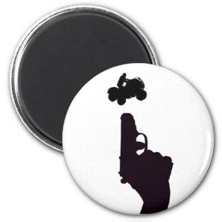 ATV GUN MAGNET