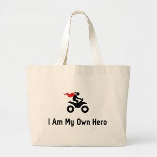 ATV Hero Large Tote Bag