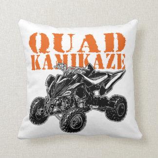 ATV Kamikaze Throw Pillow