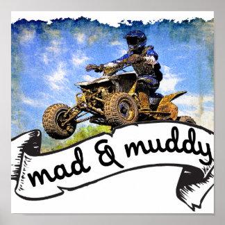 ATV madness Poster