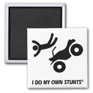 ATV mis propios trucos Imán Cuadrado