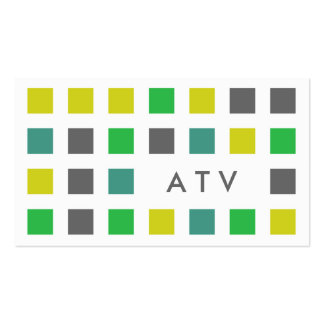 ATV (mod squares) Business Card Templates