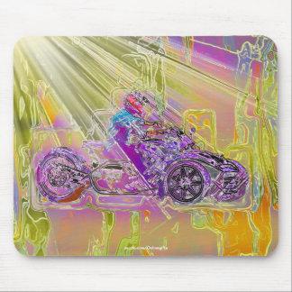 ATV MotorTrike 3-Wheeled Motorcycle Art Mouse Pad