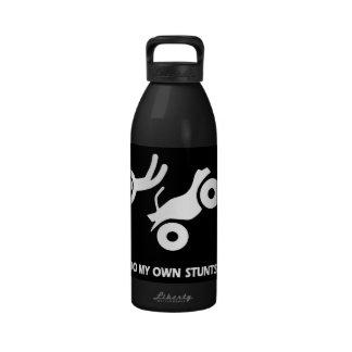ATV My Own Stunts Reusable Water Bottle