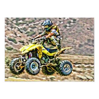 ATV Off Road Running Card