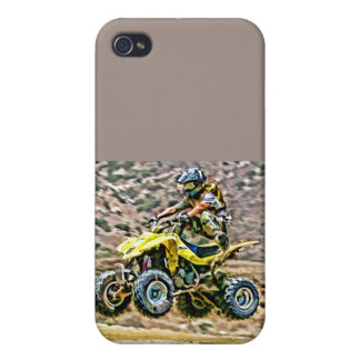 ATV Off Road Running Case For iPhone 4