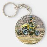 ATV Off Road Running Key Chains