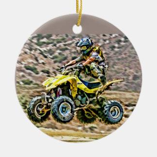 ATV Off Road Running Ornaments