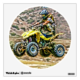 ATV Off Road Running Wall Decal