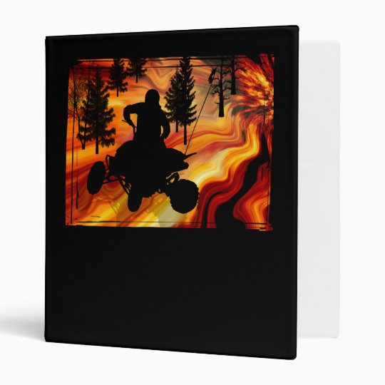 ATV on the Road from Hell 3 Ring Binder