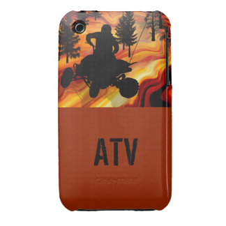 ATV on the Road from Hell iPhone 3 Covers