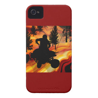 ATV on the Road from Hell Case-Mate iPhone 4 Case