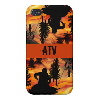 ATV on the Road from Hell Cover For iPhone 4