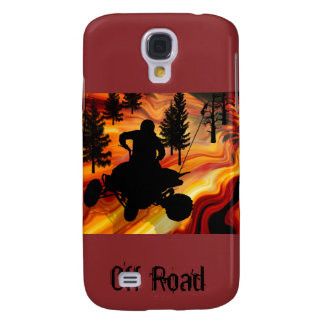 ATV on the Road from Hell Galaxy S4 Case