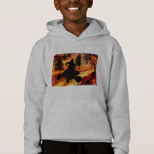 ATV on the Road from Hell Hoodie