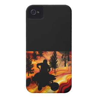 ATV on the Road from Hell iPhone 4 Case