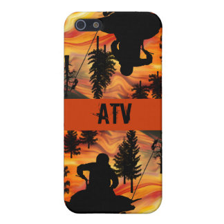 ATV on the Road from Hell iPhone SE/5/5s Cover