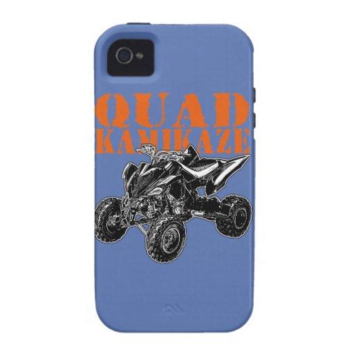 ATV Quad Kamikaze iPhone 4 Cases
