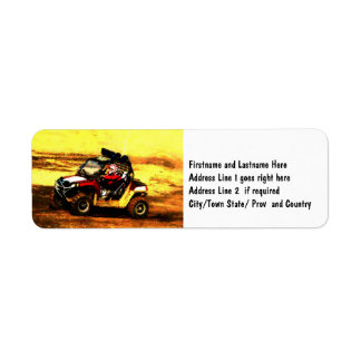 ATV Rider - All Terrain Extreme  Motorsports Label