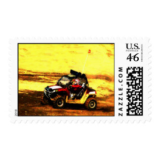 ATV Rider - All Terrain Extreme Motorsports Postage Stamps