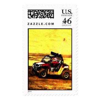 ATV Rider - All Terrain Extreme Motorsports Postage Stamp