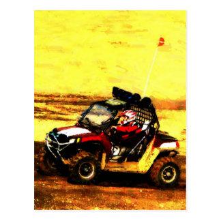 ATV Rider - All Terrain Extreme  Motorsports Postcard