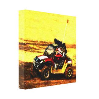 ATV Rider Canvas Print