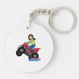 ATV Rider - Medium Keychain