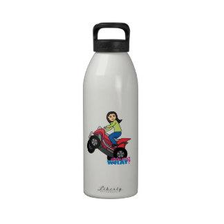 ATV Rider - Medium Water Bottles