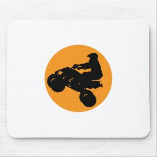 ATV RIDER MOUSE PAD