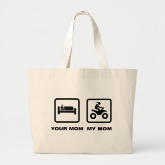 ATV Rider Tote Bag