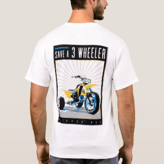 "ATV - ""Save a 3 Wheeler"" T-Shirt"