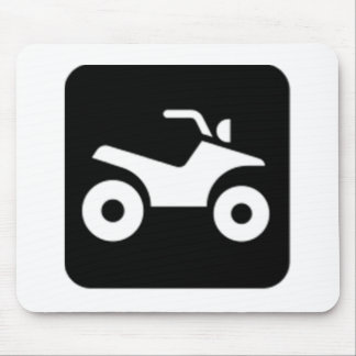 ATV Sign Mouse Pad