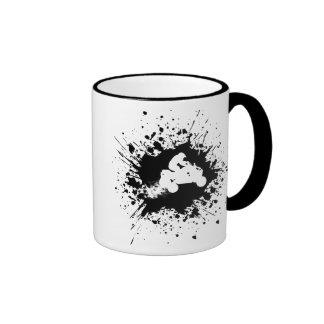 atv splatz. ringer coffee mug