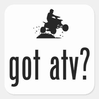 ATV SQUARE STICKER