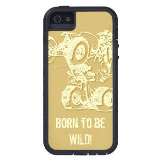 ATV Wheelie in Tan iPhone 5 Cases