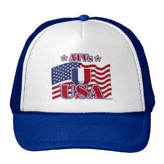 ATVs USA Trucker Hats