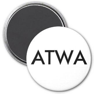 ATWA 3 INCH ROUND MAGNET