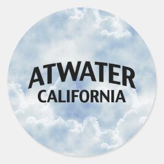 Atwater California Classic Round Sticker
