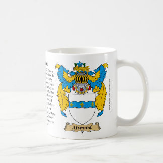 Atwood Family Coat of Arms Coffee Mugs