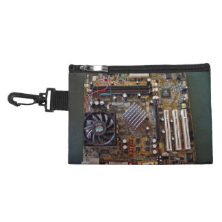 ATX motherboard view from above Accessory Bags