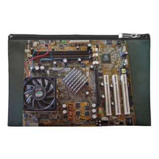 ATX motherboard view from above Travel Accessories Bags